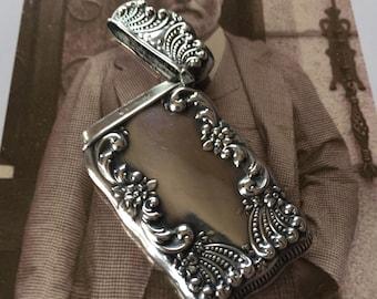 Sterling Silver Vesta Match Case