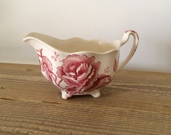 Vintage Johnson Brothers English Chippendale Creamer