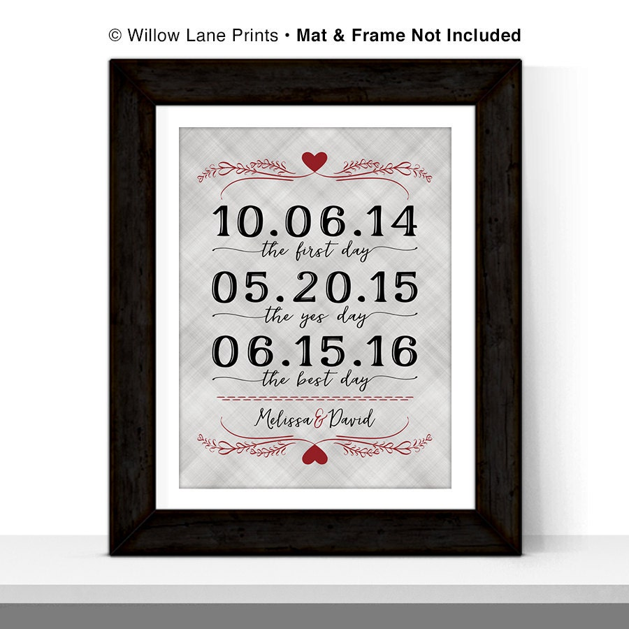 Wedding Anniversary Gifts For Couples: Wedding Gift For Couple First Anniversary Gift For Him