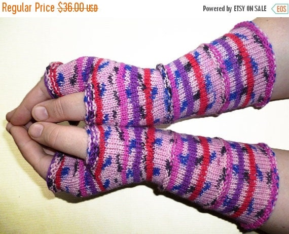 BIG SALE 30% OFF Knit Fingerless gloves | Knitted Fingerless Mittens | Long Arm Warmers | Boho Glove | Women Fingerless | Wrist Warmers |