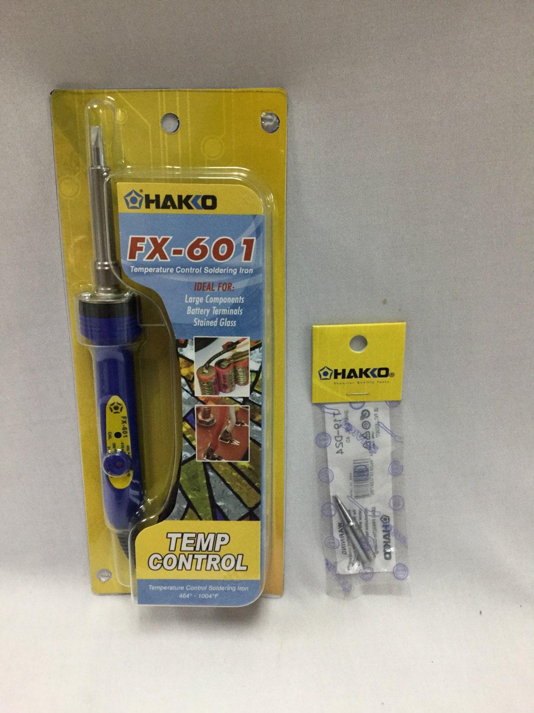 hakko fx 601 soldering iron ceramic core 3 16 tip plus small. Black Bedroom Furniture Sets. Home Design Ideas