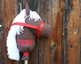 Personalized Stick Horse