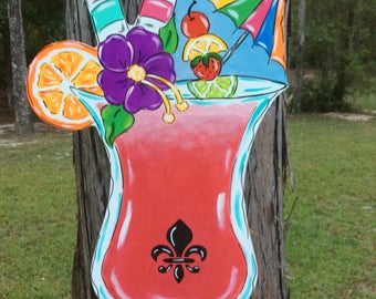 Hurricane, Tropical drink, NOLA, New Orleans, Beach, Summertime, Summer