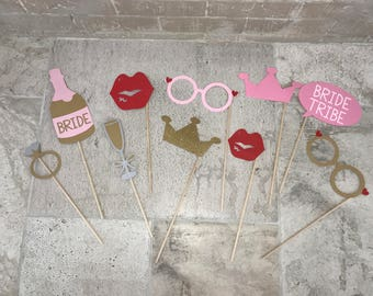 Custom Bridal Photo Booth Props