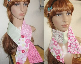 Accessory/patchwork/scarf/colorful scarf/liberty/flowers/scarf/Tie/women accessory