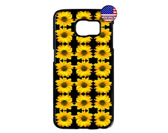 Sunflower Cute Flower Beautiful Hard Rubber TPU Case Cover For Samsung Galaxy S8 S7 S6 Edge Plus S5 S4 S3 NOTE 5 4 3 2 iPod Touch 4 5 6