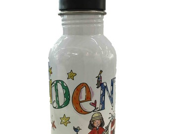 Stainless steel water bottle, 500 ml, RosiRosinchen