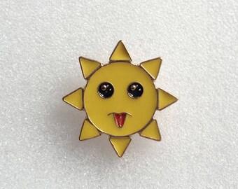 Sunshine Mini Brooch pins Enamel Pin - Lapel Pin
