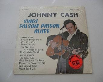 Johnny Cash - Sings Folsom Prison Blues - Circa 1970