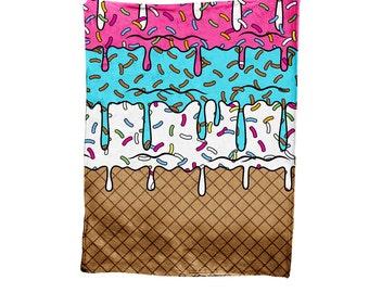 Ice Cream Cone Blanket