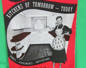 ACE Utilities Kitchens of Tomorrow 1949  Catalog