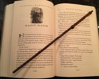 Bronze magic wand, 12 inch Harry Potter wand