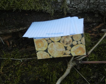 notes bloc made of upcycled paper #EtsySuccess