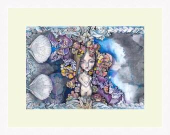 Venus original art A4