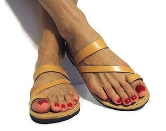 Ancient Greek sandals, leather sandals, Greek sandals, strappy sandals, boho sandals, Indian sandals, leather flats, summer flats