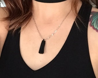 Suede choker // Necklace