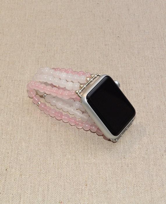 Apple Watch Band 42mm - Apple Watch Strap 38mm - No Clasp iWatch Band - Stretch Fit Apple Watch Accessories - Lugs Adapter