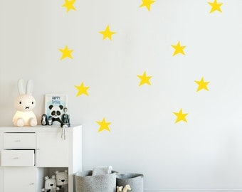Stars Decal - Choose Your Color, Decals, Stickers, Geometric Wall Decal.