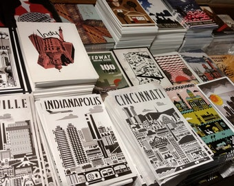 Indygenous postcards