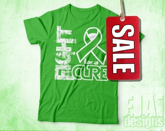 Non Hodgkin's, Lymphoma, Lyme Disease, Limb Girdle, Muscular Dystrophy, LGMD, Lime Green, T-shirt