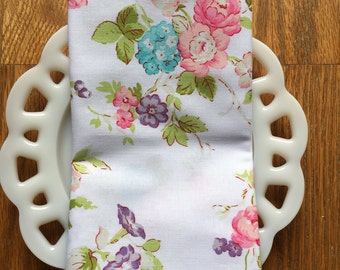 Floral Cloth Napkin