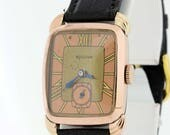 Rose Gold Filled Bulova wrist watch