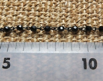 Beadlinx black bead chain