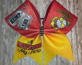 Marines cheer bow