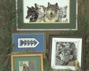 Wolves Cross Stitch Chart