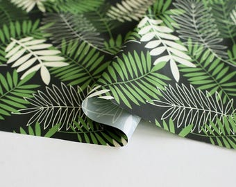 Waterproof Fabric Leaf Green By The Yard