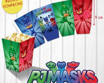 Pop Corn Pj Masks