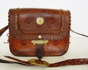 Lovely old leather bags