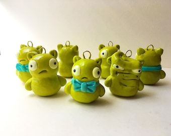 Kuchi Kopi Charm Necklace Phone Charm Louise Kawaii Cute - nerdcake