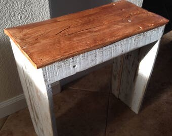Country Rustic Farm Bench