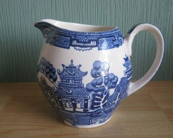 Alfred Meakin Willow pattern Milk Jug