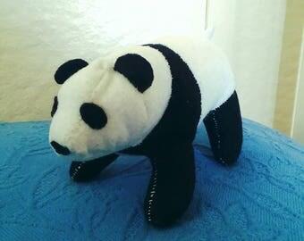 Panda Bear Plush Eco Friendly