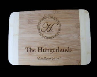 Personalized cutting board, engraved cutting board, couple gift, wedding gift, wedding present, anniversary present, custom cutting board