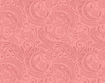 Island Girl - Peach Polynesia 194-2 by Lewis & Irene Fabrics Cotton Fabric Yardage