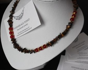 "Necklace ""Flamenko"""