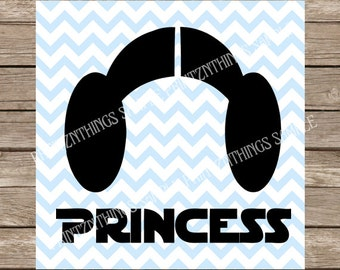 Star Wars, Star Wars SVG, Princess, Princess Leia, Princess Leia svg, disney svg, starwars, svg, disney princess, disney princess svg