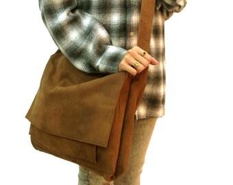 Black leather messenger bag Leather laptop messenger bag