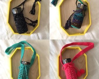 Crocheted Bottle Holder//Crocheted Bottle Cozy