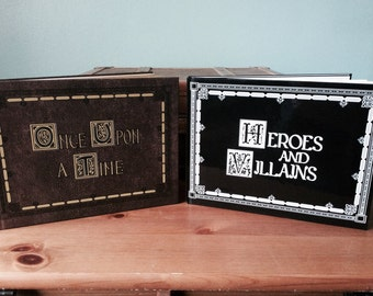 Once Upon A Time & Heroes and Villians Storybook! Featuring Stories and Pictures! Henrys Book
