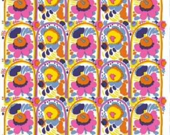 Marimekko Karuselli fabric, half yard, 18 x 56 inches, from Finland