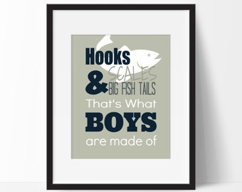Fishing Nursery - Nursery Fishing Decor - Nursery Fishing - Fishing Decor for Boys Room - Boy Fishing Nursery - Boy Fishing Decor - Fish Boy