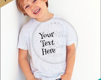 Child T-Shirt Mockup, T-Shirt Apparel Mock-Up, Styled Photography Mockup, T-Shirt Mock Photo, Mock Up for Design Display, T-Shirt Display