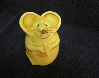 Vintage Mouse Cheese Shaker City Mice Parmesan