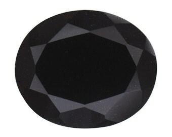 Black Tourmaline Oval Cut Loose Gemstone 1A Quality 12x10mm TGW 3.80 cts.