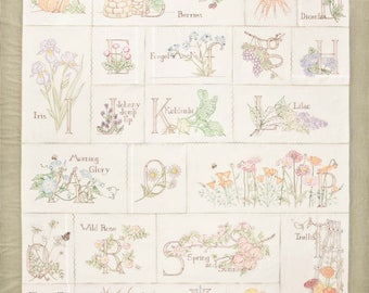 Crabapple Hill A Gardener's Alphabet Quilt Pattern