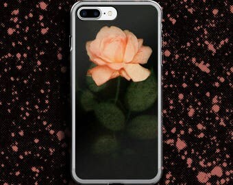 Rose iphone case, Pink rose iphone case, Pink Rose phone case, Vintage Rose phone case, Flower phone case, Floral iphone, light rose case